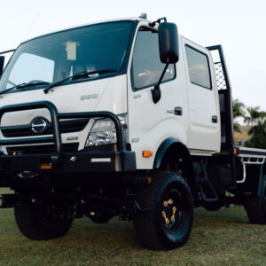 HINO 17inch Single Wheel Conversion