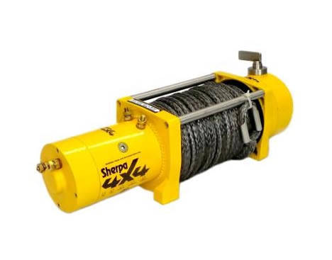 SHERPA 17000LB WINCH 12V OR 24V PLASMA ROPE