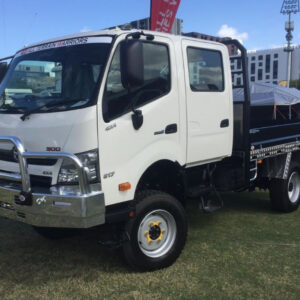 19.5 inch Single Wheel Conversion HINO