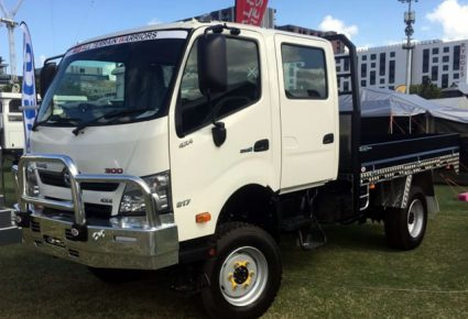 HINO 817 4X4, 7.5T GVM 4x4 Single or Crew Cab